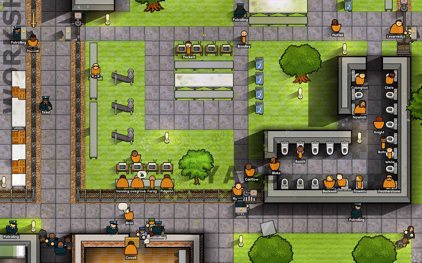 Introversion software for Jail architect